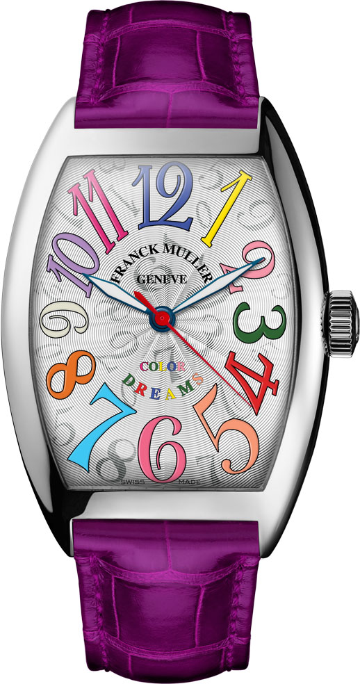 Franck Muller Cintrée Curvex Colour Dreams