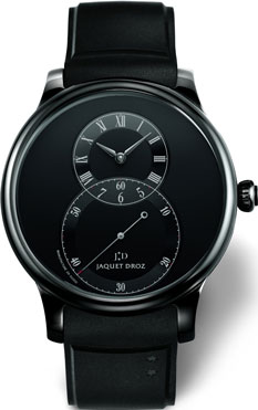 Jaquet Droz Grande Seconde Ceramic Black